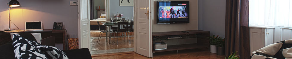 flexible accommodation in Prague - self catering apartments